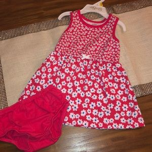 Carters dress with bloomers